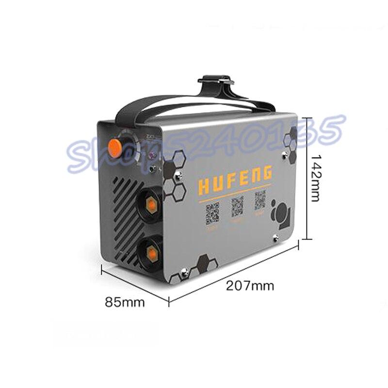 ZX7-200 10-200A 4000W Handheld Mini MMA Elektrische Stick Schweißer 220V 200A Inverter Arc IGBT Schweiß Maschine werkzeug