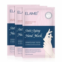 3 Pairs Moisturizing Hand Mask Silk Skiing Improves Dry Exfoliating Remove Dead Skin Winter Hydrating Hand Care
