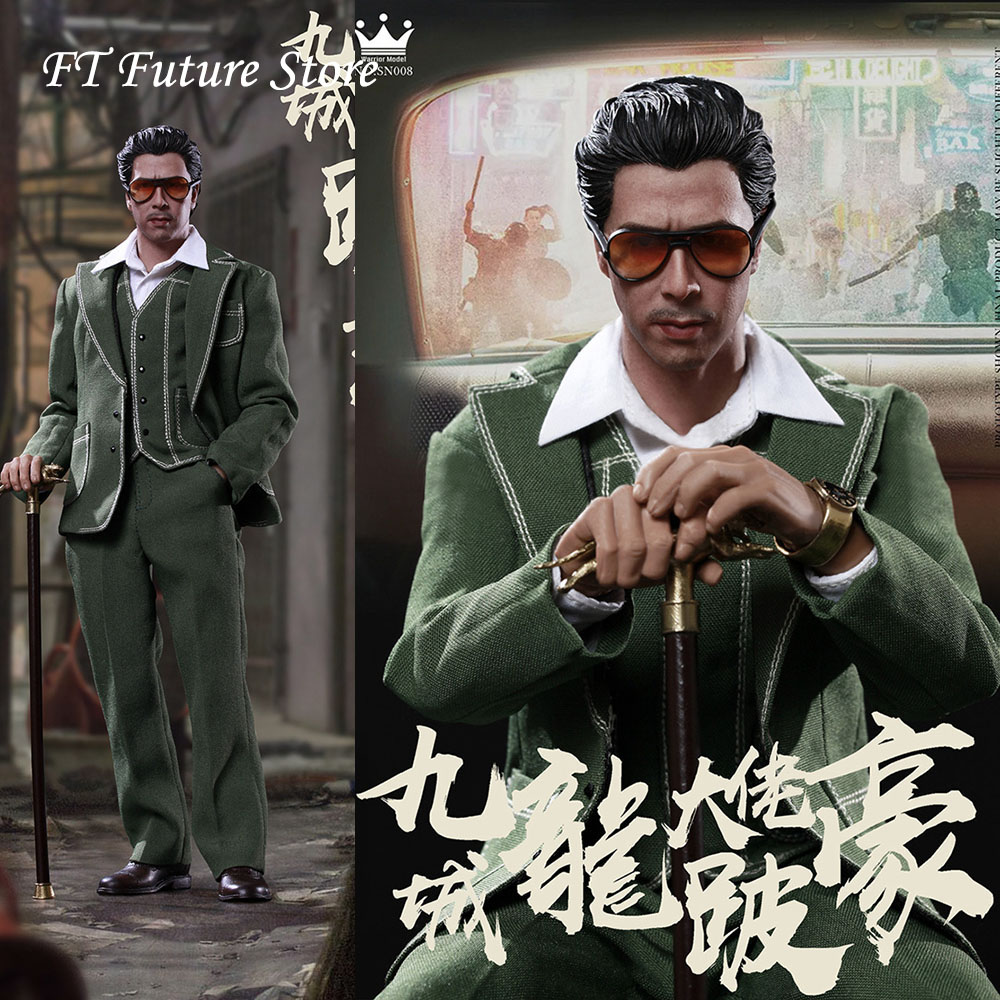 In Stock For Fans Gifts 1/6 SN008 Kowloon City mogul Limpy Ho 12'' Full Set  Action Figure Doll Accessory Model