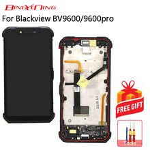 BingYeNing New Original For Blackview BV9600/BV9600 Pro Touch Screen+LCD Display+Frame Assembly Replacement(China)