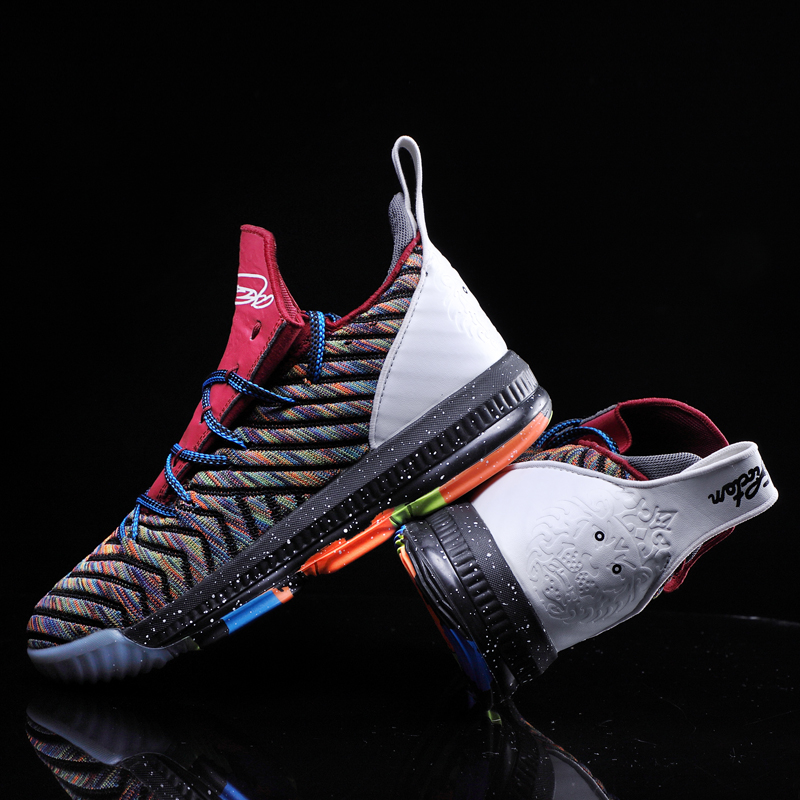 RUIFF  New Basketball Shoes For Men Women High-Top Breathable Nonslip Basketball Sneakers Shockproof Mens Sport Shoes