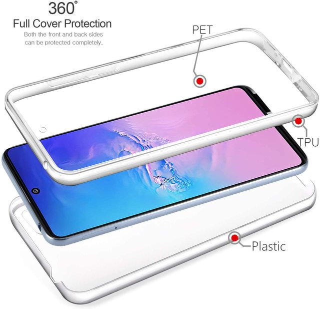 New 360 Shockproof Case for Samsung Galaxy S21 Ultra S20 S10 S10E S9 S8 Plus S7 Edge A02S A12 A32 A42 A52 A72 A21S M31S Cover 3