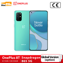 OnePlus 8 T 8 T 5G Android 11 cep telefonu 6.55