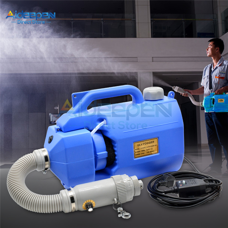 Portable 5L Sprayer Disinfection Machine 110V 220V Electric ULV Fogger Ultra Capacity Mosquito Killer Insecticide Atomizer Drugs