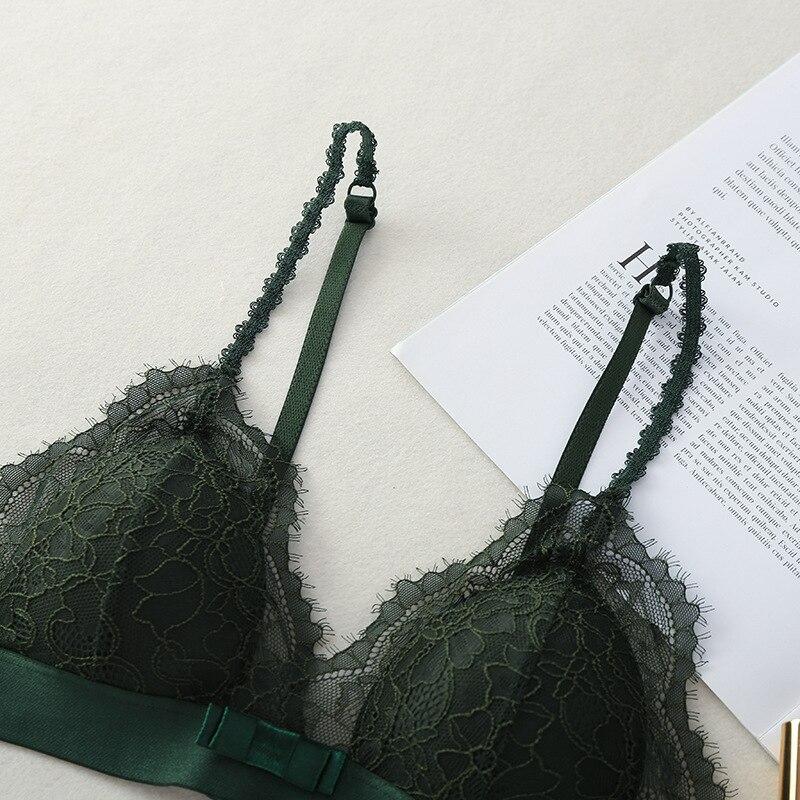 Сексуальный кружевной модный бюстгальтер с регулируемой спинкой, женское нижнее белье, кружевные бюстгальтеры, сексуальное нижнее белье, н... - 5