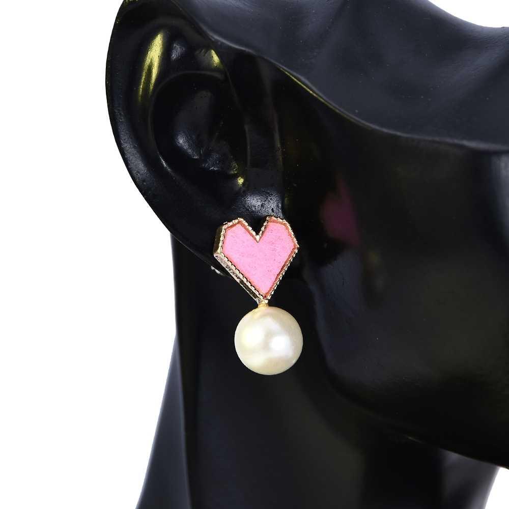 6 זוגות 2019 חדש אופנה ריינסטון קריסטל פרל עגילי סט נשי עגיל תכשיטי חתונת עגילי נשים סיטונאי 2019
