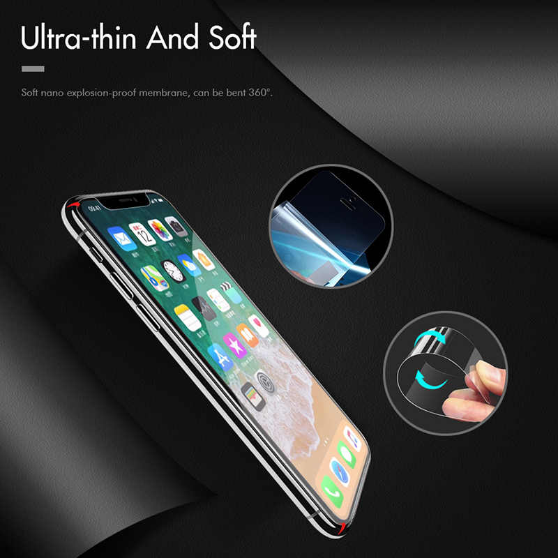 Nano patlamaya dayanıklı Film Samsung Galaxy A70 A60 A50 A40 A30 A20 A20e ekran koruyucu için Samsung S10e s10 5G artı Lite