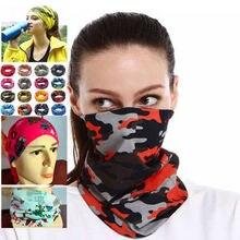 Многофункциональная печатная волшебный платок шарф для косплея