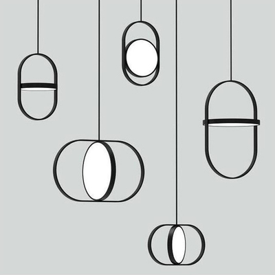 מודרני LED ורטיגו תליון מנורת לה השעיה E27 קונסטנס Guisset est בלתי luminaire עבור אוכל חדר מסעדה לאמפה זוהר-באורות תלויים מתוך פנסים ותאורה באתר lighting professor