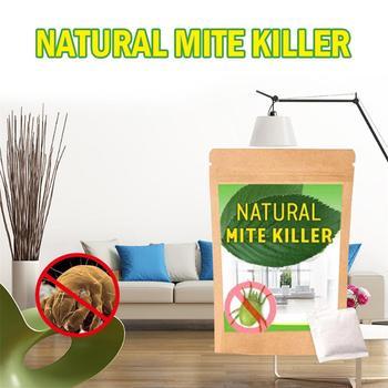 6PCS Dust Mites Kill Natural Herbal Mites Killer Exterminating Pad Killing Worms Anti-mite Pad Cushion Home Mite Control Powder