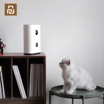 YouPin Pawbby Smart Cat Feeder Automatic Bowl Pet Cat Feeder Never Stuck Feeder Fresh Pet Food Work With MiJia App