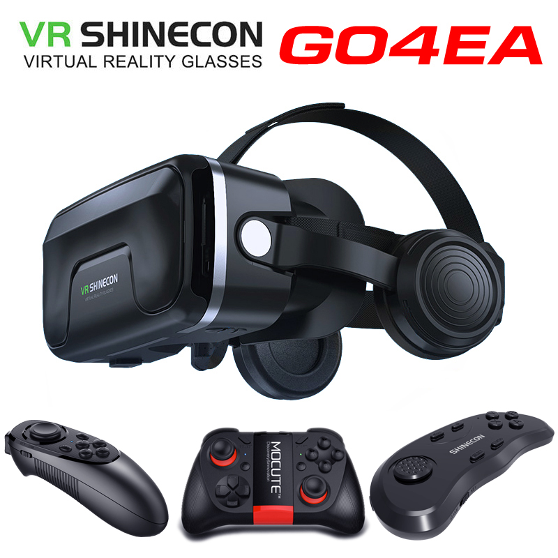 Game lovers Original VR shinecon headset upgrade version virtual reality glasses 3D VR glasses headset helmets Game box Game box image