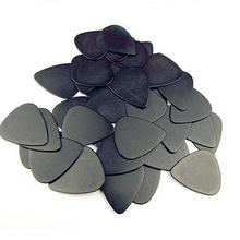 10 Pieces 0.5mm Guitar Pick Musical Accessories Black Celluloid Guitar Picks Plectrums