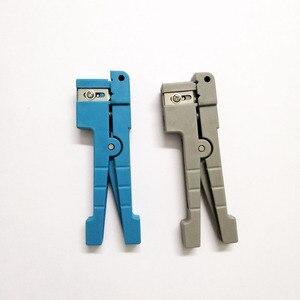 Image 1 - Бесплатная доставка 45 162 и 45 163 идеальный инструмент для зачистки оптоволоконного коаксиального кабеля