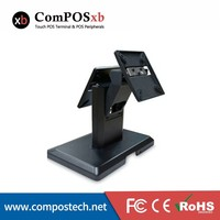 China cheap price Lcd/vesa/ touch monitor /all in one pos stand double screen