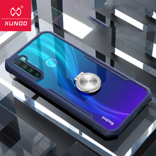 For Xiaomi Redmi Note 8 Pro Ring Phone Case Hot XUNDD Airbags Shockproof Transparent PC Back Cover for Redmi Note8 Case Funda