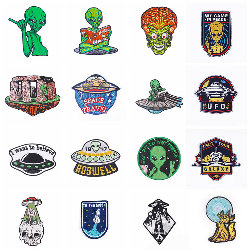 Pulaqi College Sticker Badge patches Jacket Embroidery Sew On Clothes Iron-on For Jeans Hat Marvel Patch DIY Best Sell H