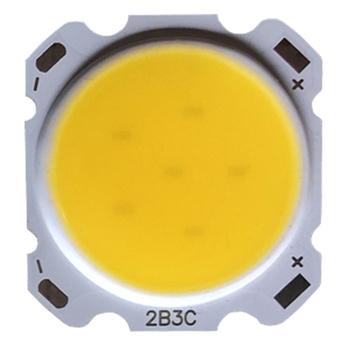 10 sztuk dużo 3W 5W 7W 10W 12W 15W wysokiej mocy LED COB światła koraliki LED lampa koralik żarówka LED Chip Spot Light Downlight latarka tanie i dobre opinie Rosensuotich Piłka COB-1 240mA-260mA 20mm