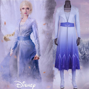 Adulto Neve Coltiva La Elsa Dress Costume Stivali Principessa di Ghiaccio queen di Halloween Cosplay Elsa Anna Costume