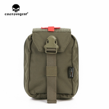 emersongear Emerson Military First Aid Kit Pouch Utility Medic Pouch Molle Nylon Survival Bag Carrier Ranger Green emerson tactical combat chest recon kit bag emersongear military multi purpose utility accessories concealed carry pouch