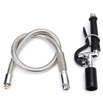 Commercial Kitchen Pre-Rinse Faucet Tap Spray Head Sprayer With Flexible Hose
