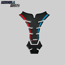 цена на Fuel Tank Pad Kit Sticker Tank Side Oil Gas Cap Cover Protector 3D Carbon Fiber Motorcycle Decal For BMW S1000RR S1000R HP4