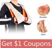 Electrical U Shape Neck Massager Shiatsu Shoulder Back Full Body Car Home Use Massage Relaxation Health Care Equipment
