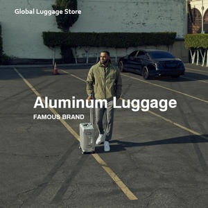 Travel-Suitcase Cabin Luggage Aluminum 30inch Luxury Brand On-Wheels 21-26-