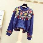 Blue Sweater Women s...