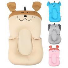 Портативная воздушная подушка для душа для малышей, подушка для младенцев, детская подушка для ванны, нескользящий коврик для ванной, подушка для безопасности новорожденных