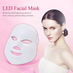 Image 2 - Missheart 美容光子 led フェイシャルマスク治療 7 色ライトスキンケア若返りしわにきび除去顔美容