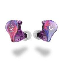 Guideray GR אני S 0.78mm 2pin היברידי אוזניות 1BA + 1DD אוזניות עוצמה סטריאו אוזניות תפור לפי מידה Hi res DJ GR i18 /GR i58/GR i68