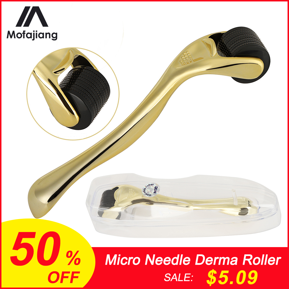 Derma Roller 0.3mm 0.25mm 0.2mm Mesoroller For Body Face Treatment Mezoroller Dermaroller Face Skin Care Treatment  Micro Needle