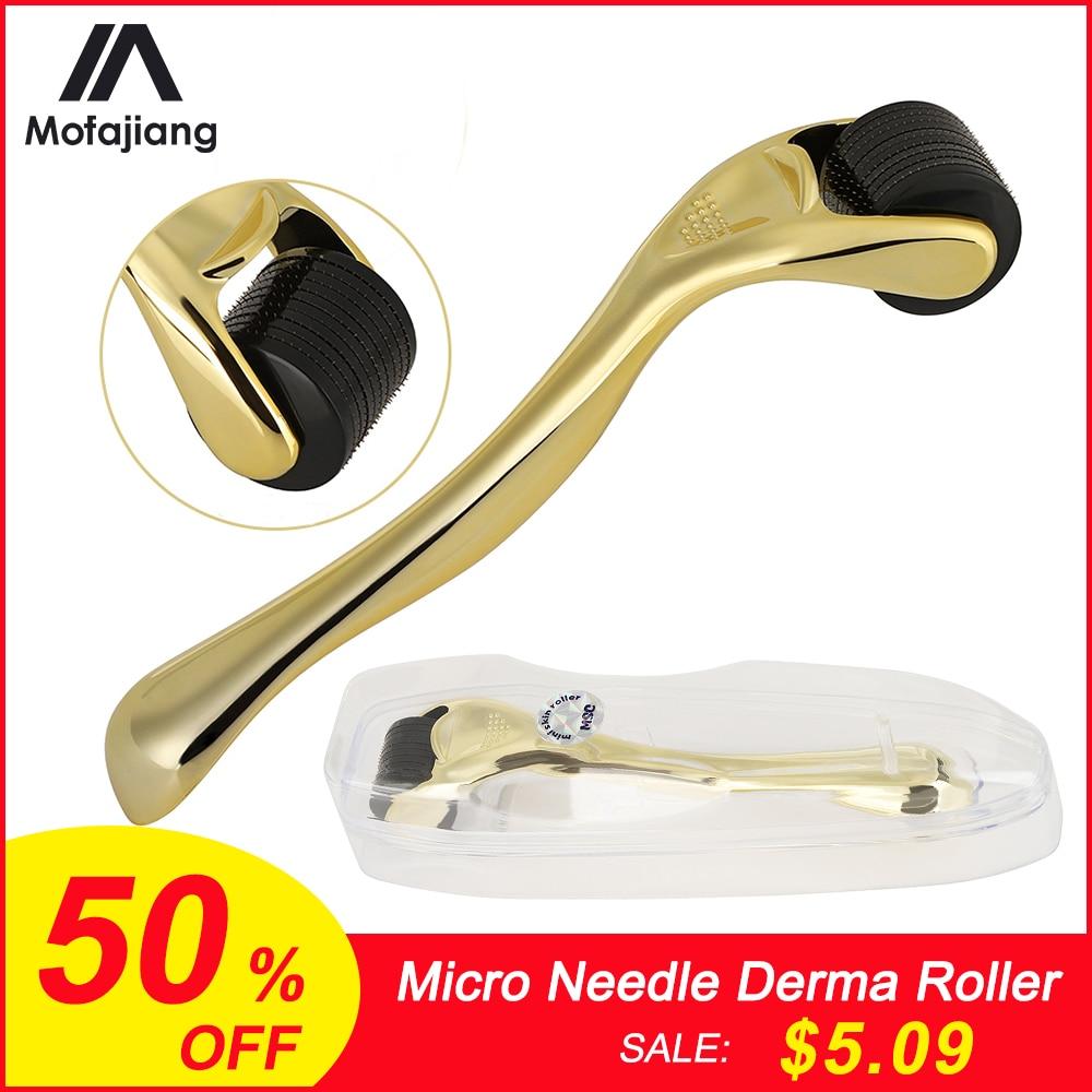 Derma Roller 0.3mm 0.25mm 0.2mm Mesoroller For Body Face Treatment Mezoroller Dermaroller Face Skin Care Treatment  Micro Needle