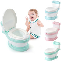 Portable Baby Potty Baby Toilet Car Potty Child Pot Training Girls Boy Simulation Toilet Kids Chair Toilet Seat Children's Pot