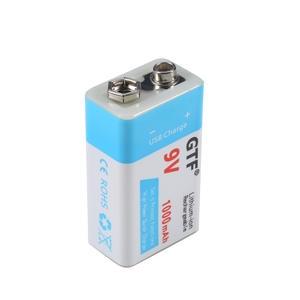 GTF Usb-Battery Li-Polymer 1000mah/500mah 9V for Toy Electronic-Product