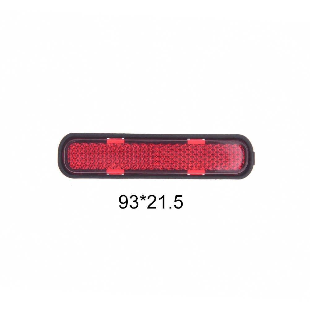 Plastik Fahrrad Night Sicherheits-reflektor Licht Hinten Warnung Tragetasche