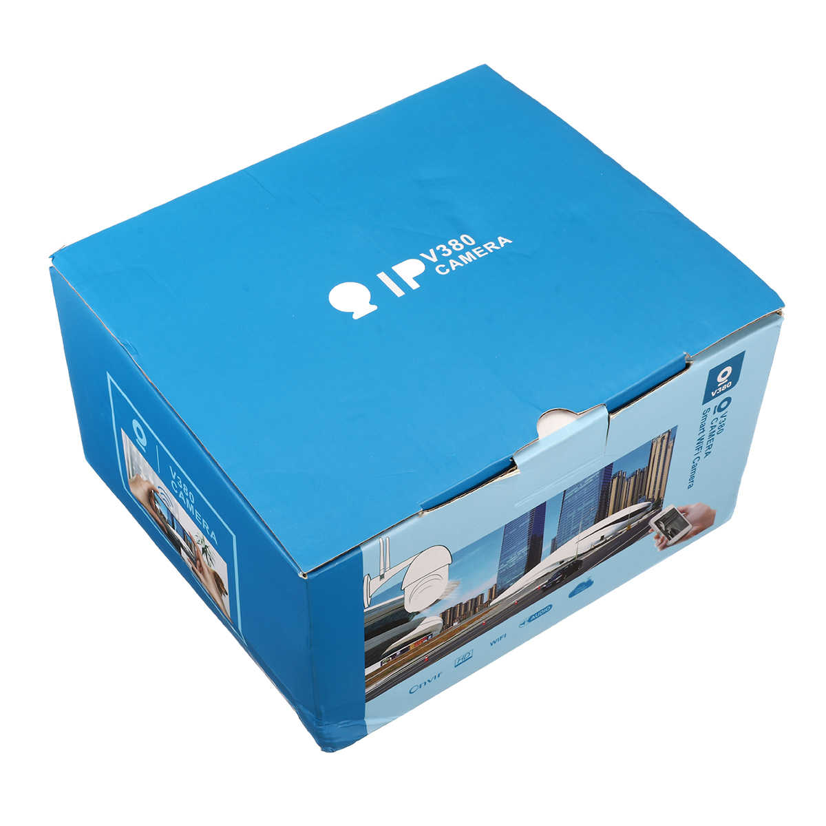 6x Zooom HD 1080P WIFI IP Kamera 8 LED Outdoor Pengawasan Keamanan Kamera Penuh Warna/Night Vision /IP66 Tahan Air/PTZ