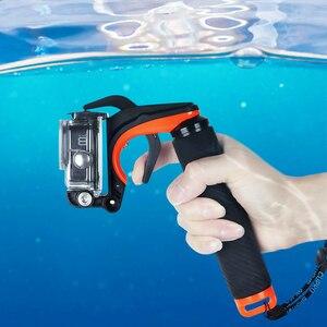 Image 5 - Shutter Trigger Diving Buoyancy Stick Floating Hand Grip For GoPro Hero 8 hand grip Black shutter control shooting bracket