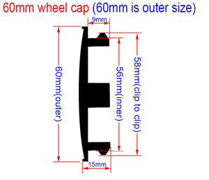Image 4 - 4個56ミリメートルまたは60ミリメートルladaロシア旗ロゴ車のエンブレムホイールセンターハブキャップリム修理されたクリエイティブバッジカバー装飾ステッカー