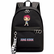 Kpop Bangtan Boys Album Love Yourself Backpack Jungkook V Suga Rm Jimin Jin Jhope School Bags Jewelry Admission Package Cosmetic