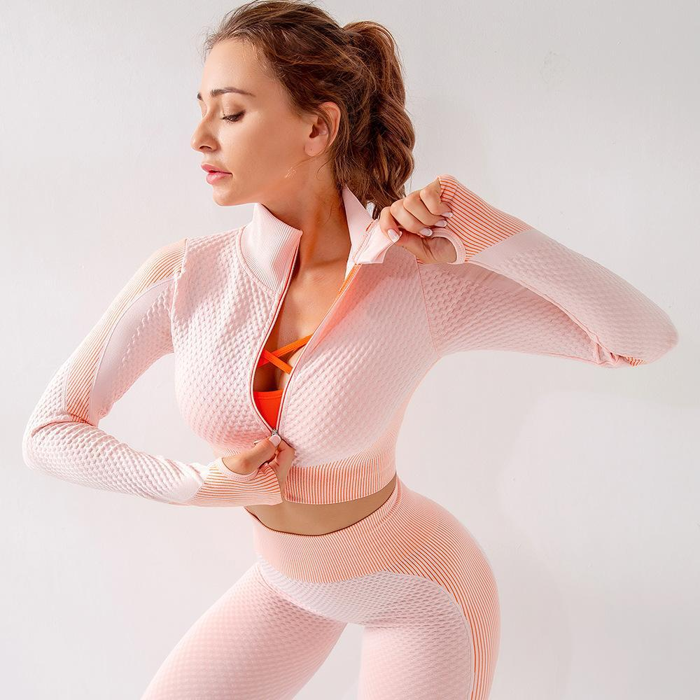 Yoga Gym Set Workout Clothes for Women