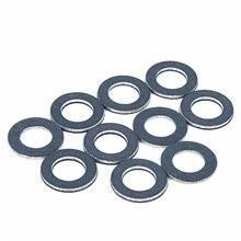 10 шт. уплотнительные кольца уплотнительной шайбы для автомобильного двигателя 90430-12031 5*0,3*1,7 дюйма синие кольца шайбы для TOYOTA аксессуары