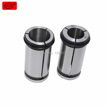 GUS 1PCS  C42 Strong 3/4/5/6/8/10/12/14/16/18/20/22/24/25/30/32MM C Force Collet Chuck NC