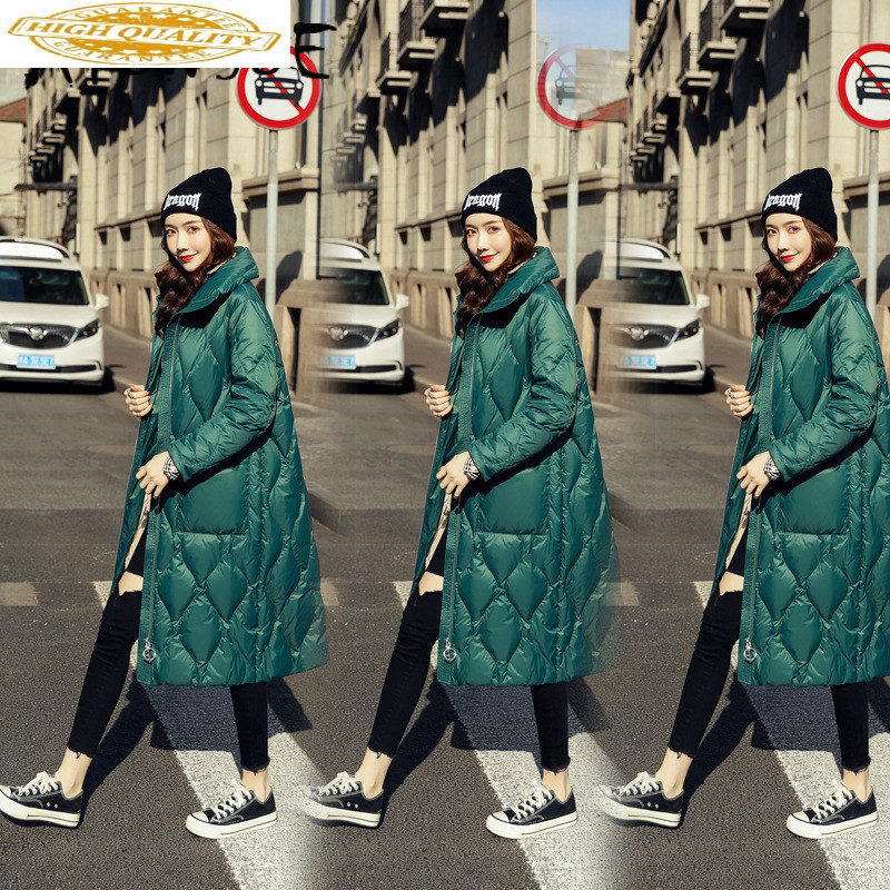 Jacket Women White Duck Down Coat Winter Down Jacket Women Jacket Korean Puffer Jacket Chaqueta Mujer YY1259