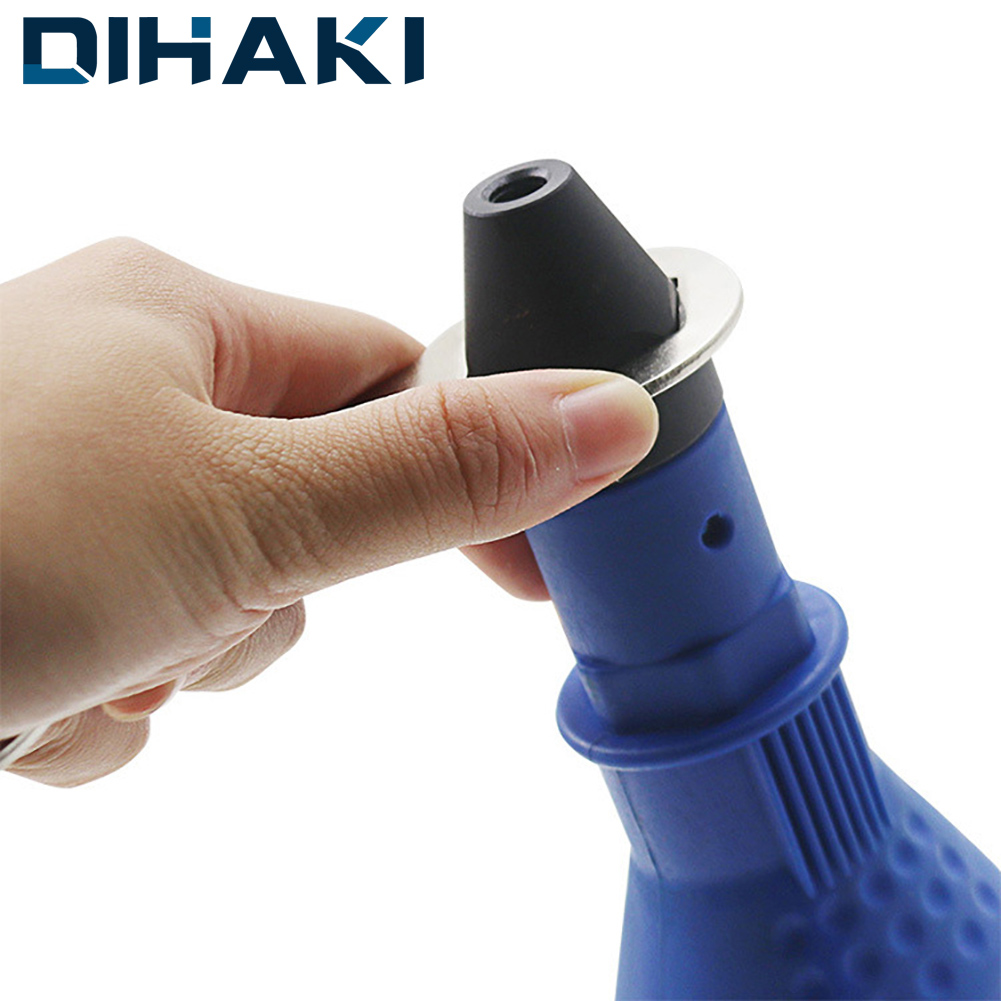 DIHAKI Electric Rivet Nut Gun Riveting Tool Cordless Riveting Drill Adaptor Insert Nut Tool Riveting Drill Adapter 2.4mm-4.8mm