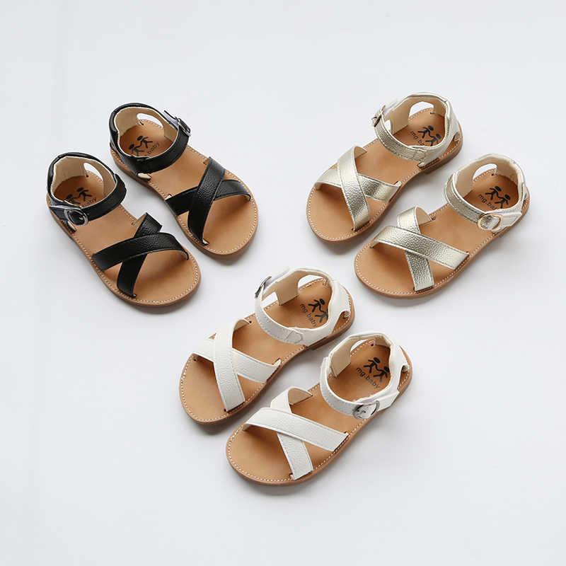 SKHEK รองเท้าแตะนุ่มรองเท้าแบนรองเท้าแตะชายหาดรองเท้าสีเด็กวัยหัดเดินรองเท้าแตะ