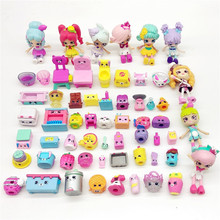 MOST Popular Miniature Shops Actions Figures Family Fruit Dolls Shopping Kids Christmas Gift Doll toys Mixed Seasons