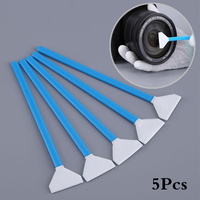5 PCS 24mm Full Frame Wet Sensor Cleaner CMOS CCD SWAB For Canon Nikon Sony DSLR