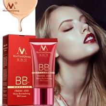 Освежающий увлажняющий BB крем для лица увлажняющий отбеливающий консилер контроль масло не удаляет макияж осветляет тон кожи